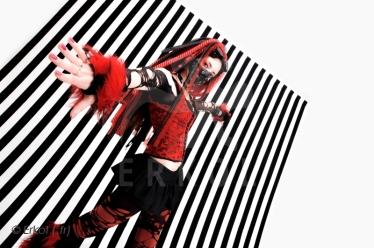 Cybergoth girl Red 06
